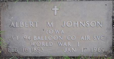 JOHNSON, ALBERT - Pocahontas County, Iowa | ALBERT JOHNSON