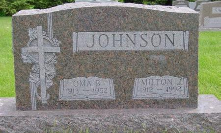 JOHNSON, MILTON - Pocahontas County, Iowa | MILTON JOHNSON