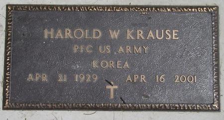 KRAUSE, HAROLD - Pocahontas County, Iowa | HAROLD KRAUSE