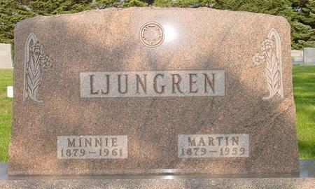 LJUNGREN, MINNIE - Pocahontas County, Iowa | MINNIE LJUNGREN