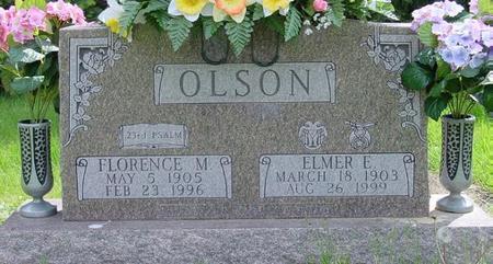 OLSON, FLORENCE - Pocahontas County, Iowa | FLORENCE OLSON