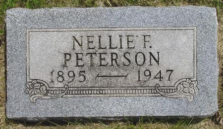 PETERSON, NELLIE - Pocahontas County, Iowa | NELLIE PETERSON