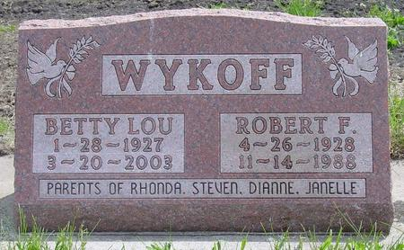WYKOFF, BETTY LOU - Pocahontas County, Iowa | BETTY LOU WYKOFF