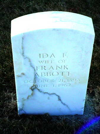 ABBOTT, IDA FRIEDA J. - Polk County, Iowa | IDA FRIEDA J. ABBOTT