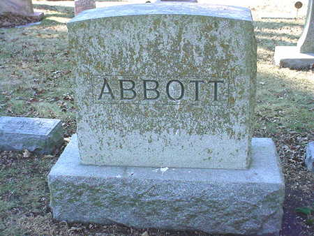 ABBOTT, MAIN STONE - Polk County, Iowa | MAIN STONE ABBOTT