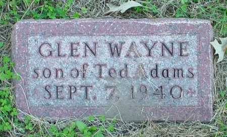 ADAMS, GLEN WAYNE - Polk County, Iowa | GLEN WAYNE ADAMS
