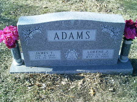 ADAMS, JAMES - Polk County, Iowa | JAMES ADAMS