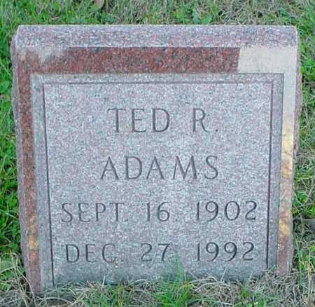 ADAMS, TED R. - Polk County, Iowa | TED R. ADAMS