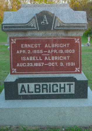 ALBRIGHT, ERNEST - Polk County, Iowa | ERNEST ALBRIGHT