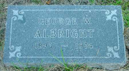 ALBRIGHT, GEORGE W. - Polk County, Iowa | GEORGE W. ALBRIGHT