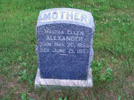 ALEXANDER, MARTHA ELLEN - Polk County, Iowa | MARTHA ELLEN ALEXANDER
