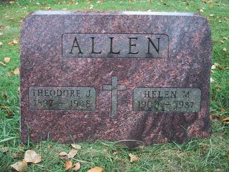 ALLEN, HELEN M. - Polk County, Iowa | HELEN M. ALLEN