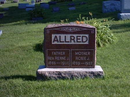 ROCKWELL ALLRED, ROXIE - Polk County, Iowa | ROXIE ROCKWELL ALLRED