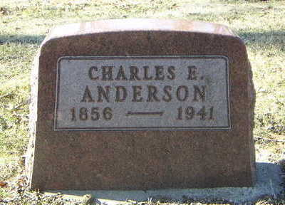ANDERSON, CHARLES E. - Polk County, Iowa | CHARLES E. ANDERSON
