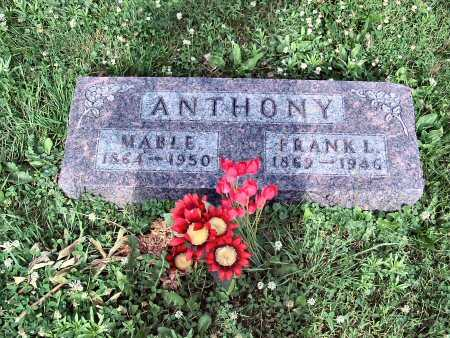 ANTHONY, FRANK L. - Polk County, Iowa | FRANK L. ANTHONY