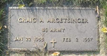 ARGETSINGER, CRAIG A - Polk County, Iowa | CRAIG A ARGETSINGER