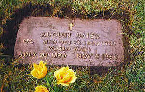 BAIER, AUGUST - Polk County, Iowa | AUGUST BAIER