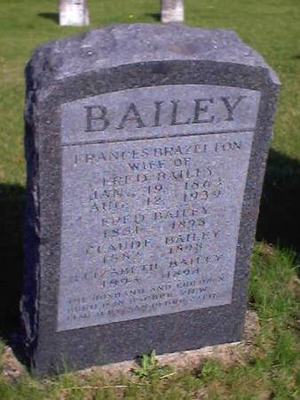 BAILEY, FRANCES - Polk County, Iowa | FRANCES BAILEY