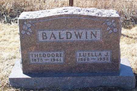 VIERS BALDWIN, LUELLA - Polk County, Iowa | LUELLA VIERS BALDWIN