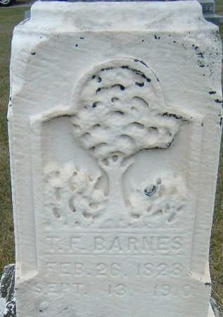 BARNES, T. F. - Polk County, Iowa | T. F. BARNES
