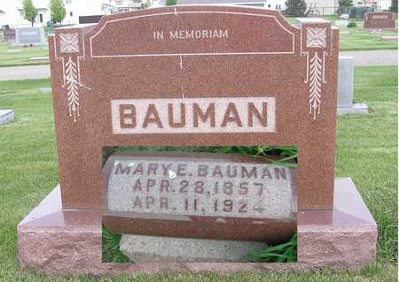FRIAR BAUMAN, MARY - Polk County, Iowa | MARY FRIAR BAUMAN