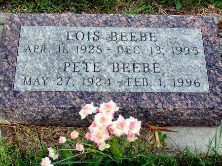 BEEBE, PETE - Polk County, Iowa | PETE BEEBE