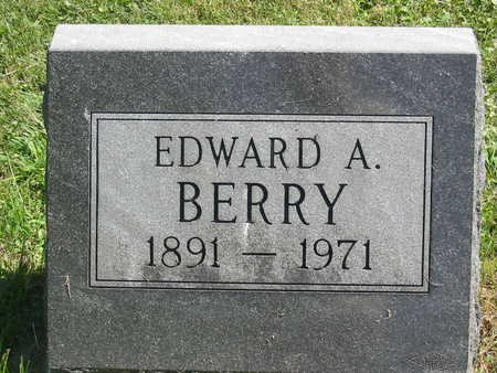 BERRY, EDWARD A. - Polk County, Iowa | EDWARD A. BERRY