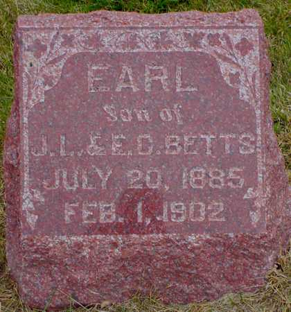 BETTS, EARL - Polk County, Iowa | EARL BETTS