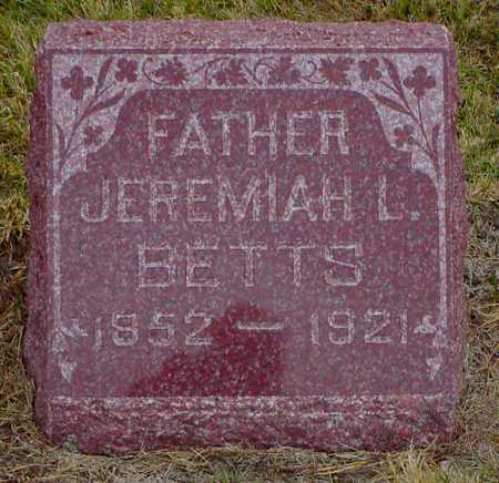 BETTS, JEREMIAH L. - Polk County, Iowa | JEREMIAH L. BETTS