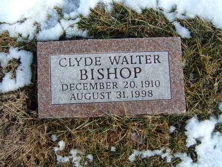 BISHOP, CLYDE WALTER - Polk County, Iowa | CLYDE WALTER BISHOP