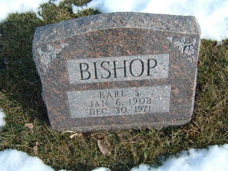 BISHOP, EARL S. - Polk County, Iowa | EARL S. BISHOP