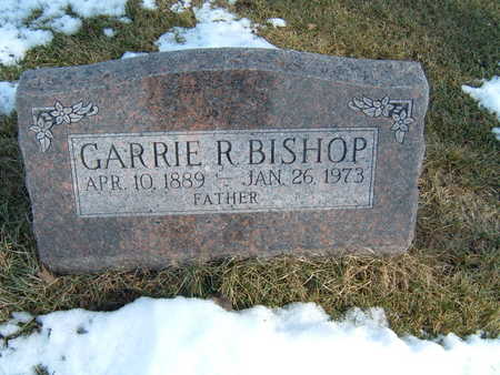 BISHOP, GARRIE R. - Polk County, Iowa | GARRIE R. BISHOP