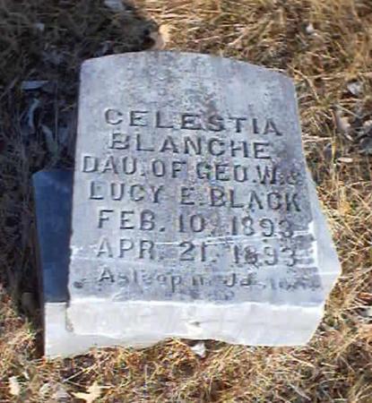 BLACK, CELESTIA BLANCHE - Polk County, Iowa | CELESTIA BLANCHE BLACK