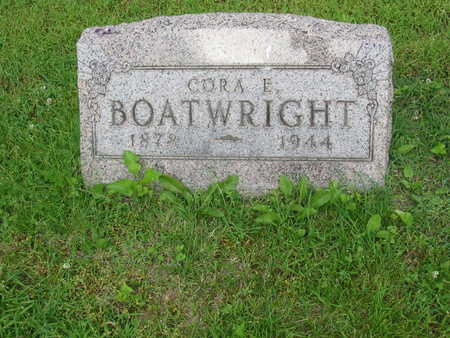BOATWRIGHT, CORA E. - Polk County, Iowa | CORA E. BOATWRIGHT