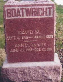 BOATWRIGHT, DAVID W. - Polk County, Iowa | DAVID W. BOATWRIGHT