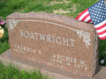 BOATWRIGHT, ARCHIE N. - Polk County, Iowa | ARCHIE N. BOATWRIGHT