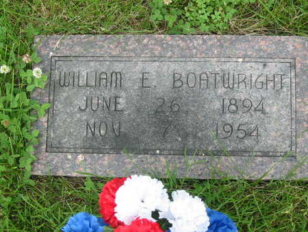 BOATWRIGHT, WILLIAM E. - Polk County, Iowa | WILLIAM E. BOATWRIGHT
