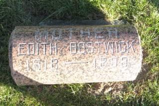 BOSTWICK, EDITH - Polk County, Iowa | EDITH BOSTWICK