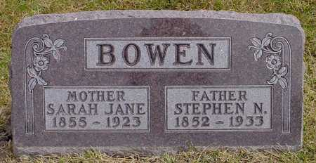 BOWEN, SARAH JANE - Polk County, Iowa | SARAH JANE BOWEN
