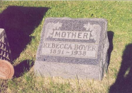 WICKER BOYER, REBECCA - Polk County, Iowa | REBECCA WICKER BOYER