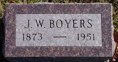 BOYERS, J. W. - Polk County, Iowa | J. W. BOYERS