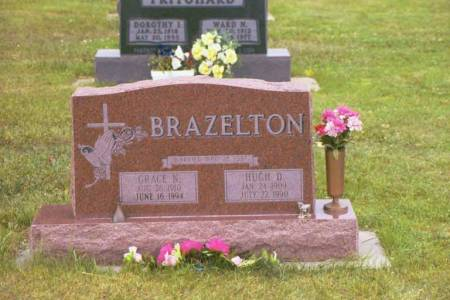 BRAZELTON, HUGH D. & GRACE N. - Polk County, Iowa | HUGH D. & GRACE N. BRAZELTON