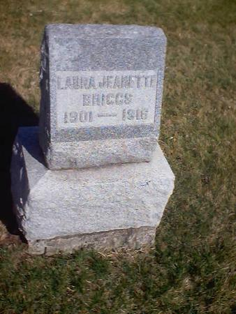 BRIGGS, LAURA JEANETTE - Polk County, Iowa | LAURA JEANETTE BRIGGS