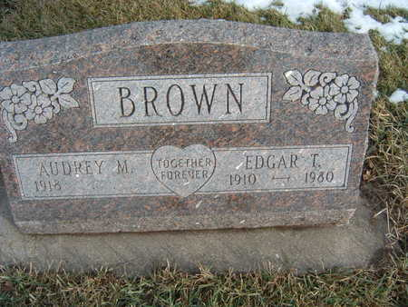 BROWN, EDGAR L. - Polk County, Iowa | EDGAR L. BROWN