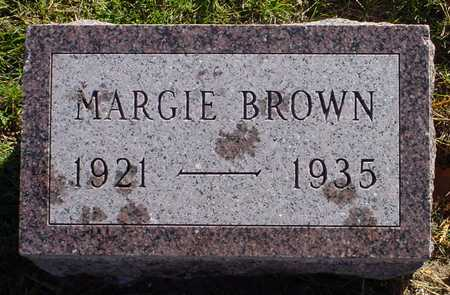 BROWN, MARGIE - Polk County, Iowa | MARGIE BROWN