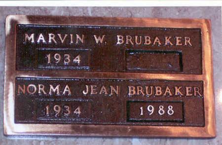 BRUBAKER, NORMA JEAN - Polk County, Iowa | NORMA JEAN BRUBAKER