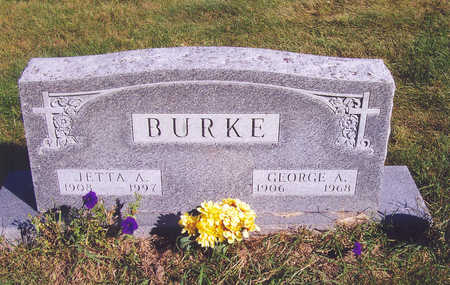 BURKE, GEORGE A. - Polk County, Iowa | GEORGE A. BURKE