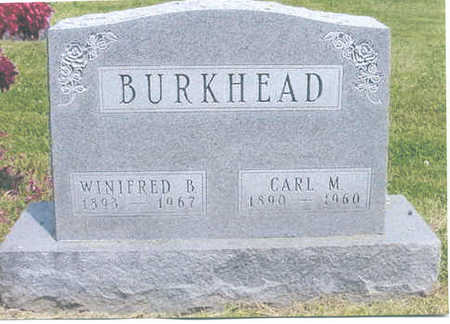 BURKHEAD, CARL M. - Polk County, Iowa | CARL M. BURKHEAD