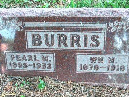 BURRIS, WILLIAM M. - Polk County, Iowa | WILLIAM M. BURRIS