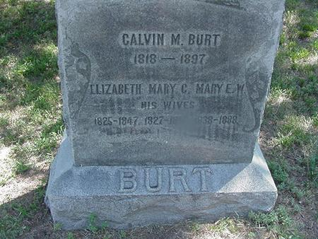 WILSON BURT, MARY E - Polk County, Iowa | MARY E WILSON BURT